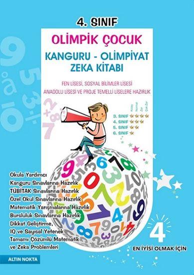 4. Sınıf Olimpik Çocuk Bilsem Kanguru Olimpiyat Zeka Kitabı