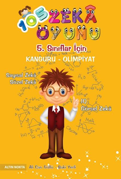 5. Sınıf 105 Zeka Oyunu Kanguru - Olimpiyat Kitabı
