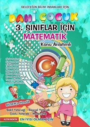 3. Sınıf Dahi Çocuk Matematik Konu Anlatım Bilsem Kanguru Olimpiyat