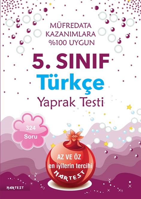 5. Sınıf Türkçe Yaprak Test - Yeni Müfredat