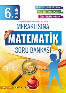 6. Sınıf Meraklısına Genç Matematik Soru Bankası Fen Liselerine Hazırlık