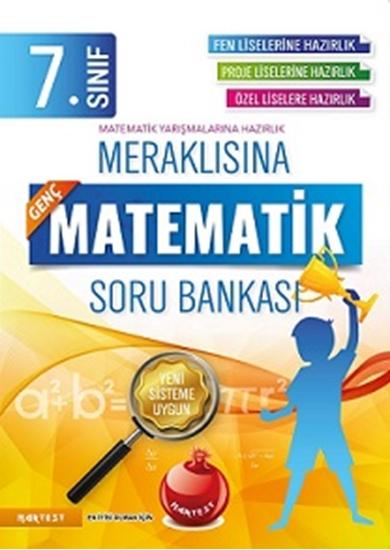 7. Sınıf Meraklısına Genç Matematik Soru Bankası Fen Liselerine Hazırlık
