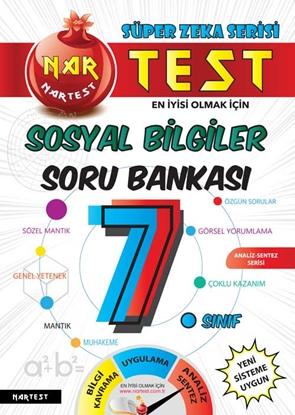 7. Sınıf Süper Zeka Sosyal Bilgiler Soru Bankası Fen Liselerine Hazırlık