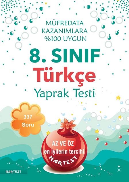 8. Sınıf Türkçe Yaprak Test- Yeni Müfredat