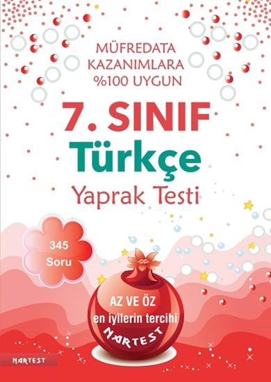 7. Sınıf Türkçe Yaprak Test - Yeni Müfredat