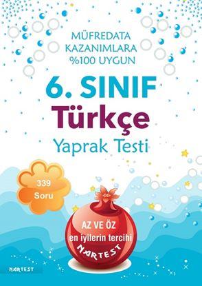 6. Sınıf Türkçe Yaprak Test- Yeni Müfredat