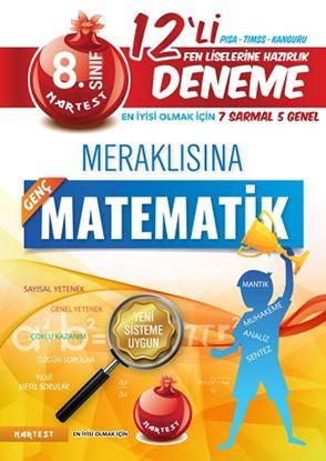 8. Sınıf Meraklısına Genç Matematik 12 Deneme Sınavı (7 Sarmal + 5 Genel)
