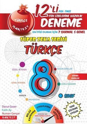 8. Sınıf Nar Türkçe 12 Deneme Sınavı  (7 Sarmal + 5 Genel)