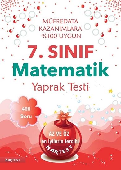 7. Sınıf Matematik Yaprak Testi - Yeni Müfredat