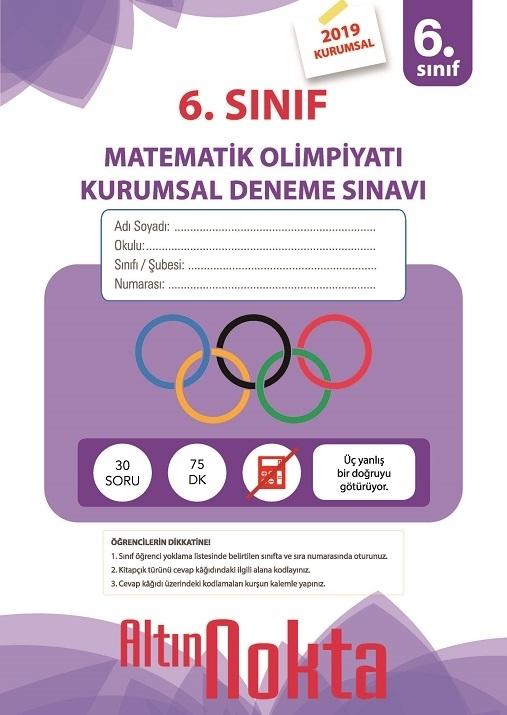 Resim 6. Sınıf Matematik Olimpiyatı Kurumsal Deneme Sınavı