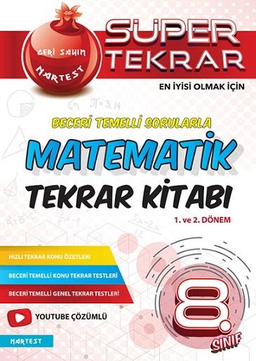 8. Sınıf Matematik Süper Tekrar Kitabı