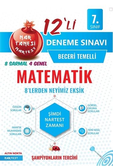 7. Sınıf Nar Tanesi Matematik Deneme Sınavı