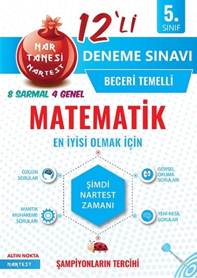 5. Sınıf Nar Tanesi Matematik Deneme Sınavı