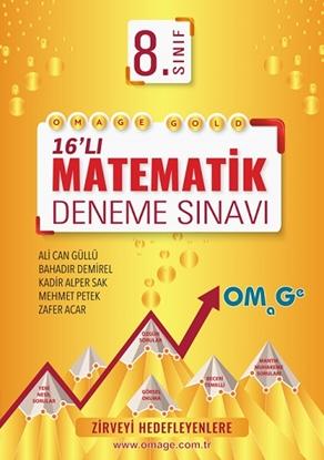 8. Sınıf Omage Gold Matematik Deneme Sınavı