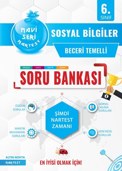 6. Sınıf Mavi Sosyal Bilgiler Soru Bankası