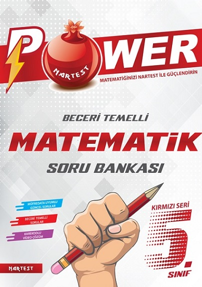 5. Sınıf Kırmızı Power Matematik Soru Bankası
