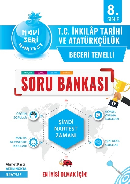 8. Sınıf Mavi T.c. İnkılap Tarihi Ve Atatürkçülük Soru Bankası