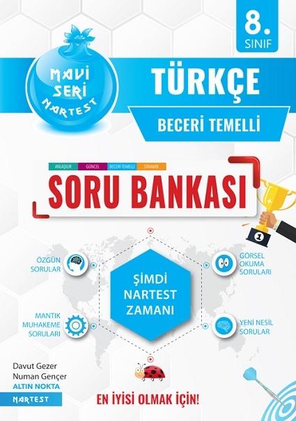 8. Sınıf Mavi Türkçe Soru Bankası