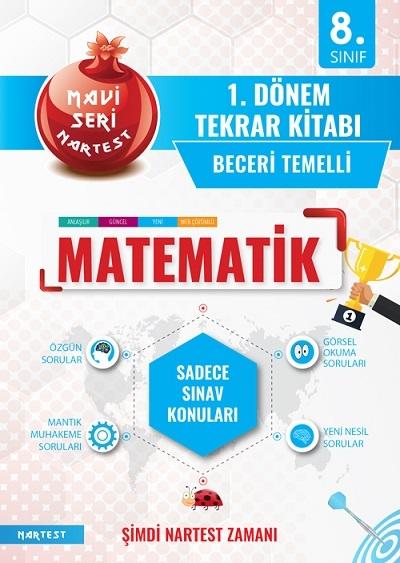8. Sınıf Mavi Matematik 1. Dönem Tekrar Kitabı Yeni