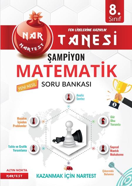 8. Sınıf Kırmızı Nar Tanesi Şampiyon Matematik Soru Bankası