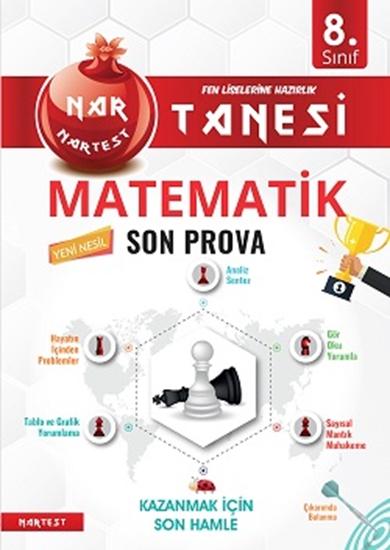 8. Sınıf Kırmızı Nar Tanesi Matematik Son Prova Altın Sorular