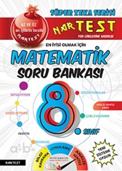 8. Sınıf Kırmızı Süper Zeka Matematik Soru Bankası Power İle Aynı Kitaptır. (power Güncel Hali)