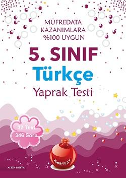 5. Sınıf Türkçe Yaprak Test 2017