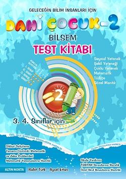 3. 4. Sınıf Dahi Çocuk Bilsem Test Kitabı Eski