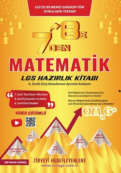 7 Den 8 E Lgs Matematik Hazırlık Kitabı