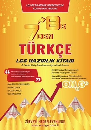 7 Den 8 E Lgs Türkçe Hazırlık Kitabı