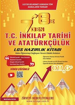 7 Den 8 E Lgs T.c. İnkılap Tarihi Ve Atatürkçülük Tarihi Hazırlık Kitabı