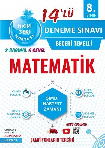 8. Sınıf Mavi Matematik 14 Deneme Sınavı