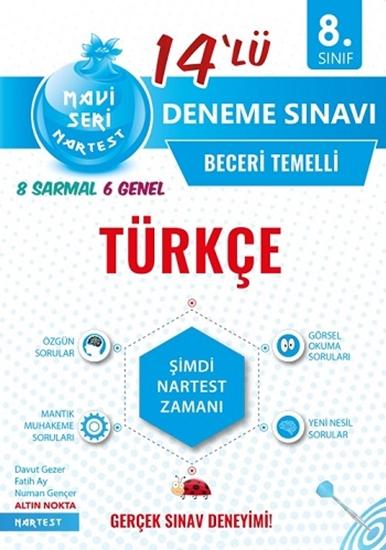 8. Sınıf Mavi Türkçe 14 Deneme Sınavı