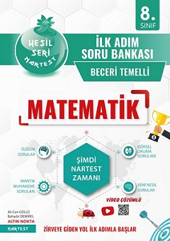 8. Sınıf Yeşil İlk Adım Matematik Soru Bankası