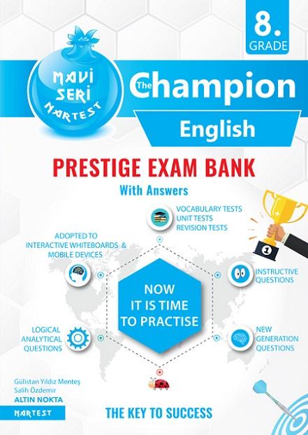 8. Sınıf Mavi İngilizce Soru Bankası