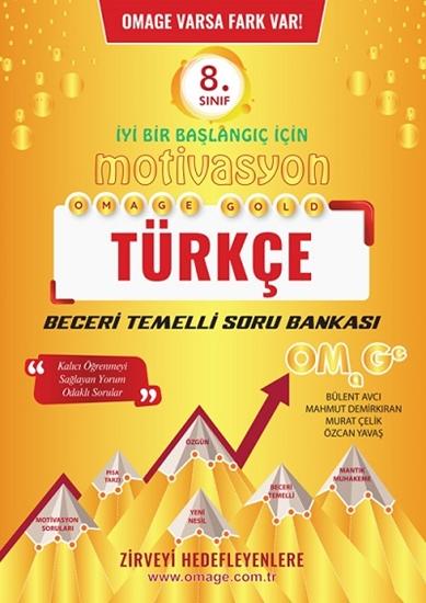 8. Sınıf Omage Motivasyon Türkçe Soru Bankası