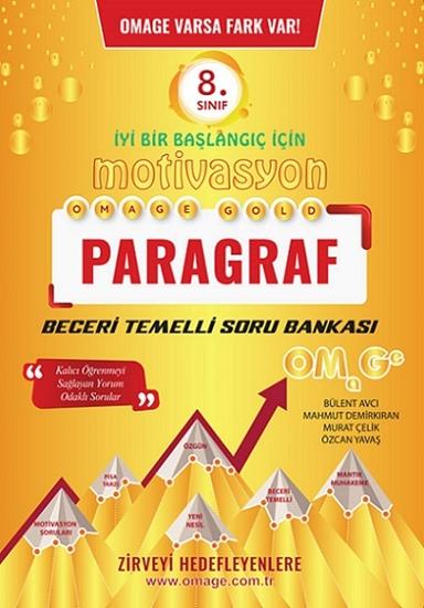 8. Sınıf Omage Motivasyon Paragraf Soru Bankası
