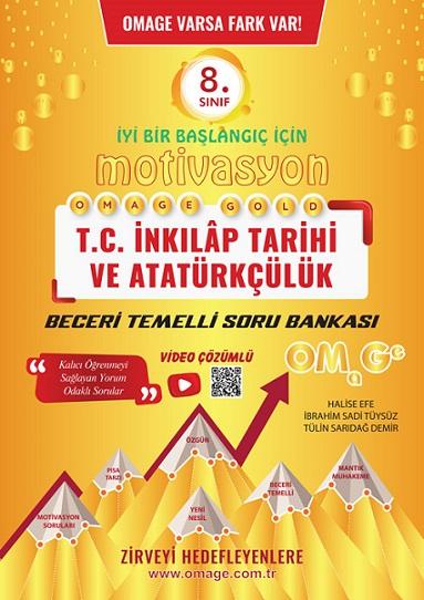 8. Sınıf Motivasyon T.c. İnkılap Tarihi Ve Atatürkçülük Soru Bankası