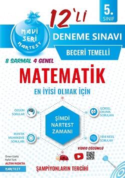 5. Sınıf Mavi Matematik 12 Deneme Sınavı