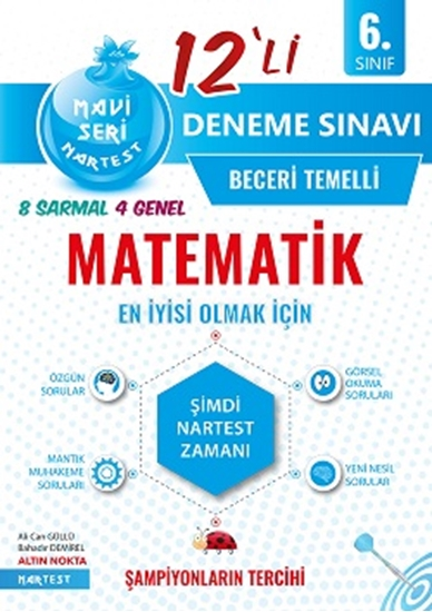 6. Sınıf Mavi Matematik 12 Deneme Sınavı