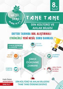8. Sınıf Yeşil Tane Tane Din Kültürü Ve Ahlak Bilgisi Soru Bankası