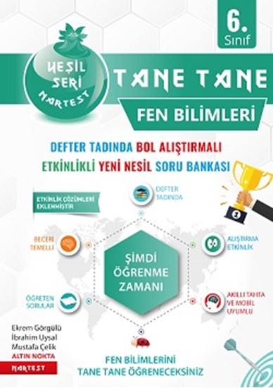 6. Sınıf Yeşil Tane Tane Fen Bilimleri Soru Bankası