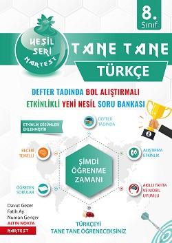 8. Sınıf Yeşil Tane Tane Türkçe Soru Bankası