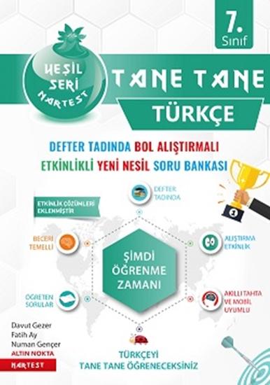 7. Sınıf Yeşil Tane Tane Türkçe Soru Bankası