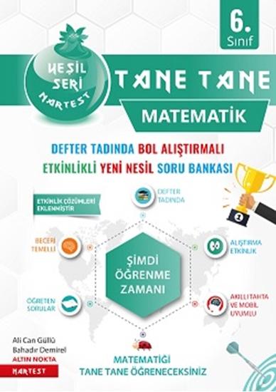 6. Sınıf Yeşil Tane Tane Matematik Soru Bankası
