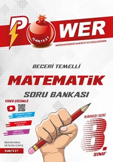 8. Sınıf Kırmızı Power Matematik Soru Bankası