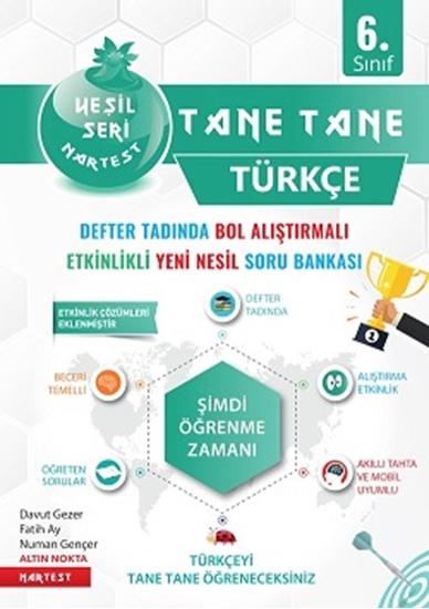 6. Sınıf Yeşil Tane Tane Türkçe Soru Bankası