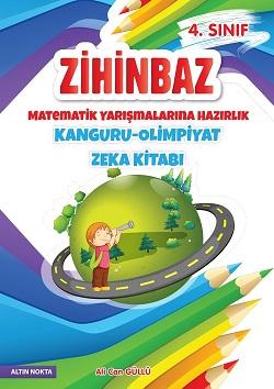 4. Sınıf Zihinbaz Matematik Yarışmalarına Hazırlık Kanguru - Olimpiyat Zeka Kitabı